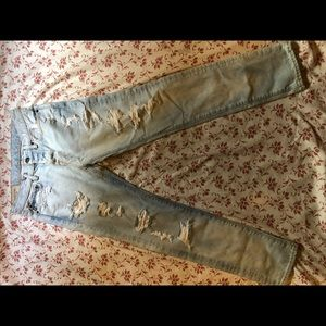 Abercrombie &Fitch roped jeans